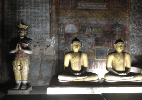 Caves in Dambulla Temple