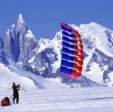 Patagonia, a trekker