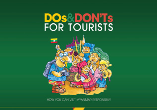 Be a responsible tourist in Myanmar!
