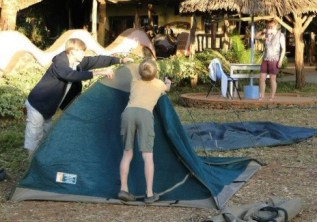 Why Adventure Camping is Fun! Bugz n All!