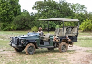 Customised Photography Safari Vehicle in South Luangwa