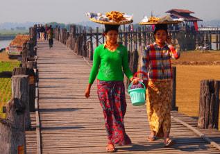 U Bein Bridge: Longest Teak-Made Bridge