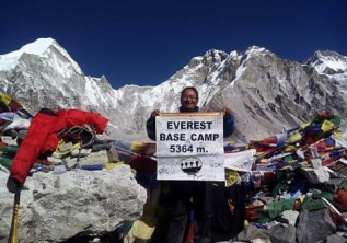 Everest Base Camp 5364 m and Kalapathar 5545 m Trek in Nepal