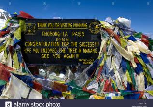 Annapurna Thorong-La Pass Trekking 5416m