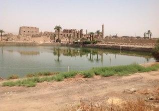 Between the Karnak Ruins