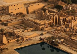 The ancient temples of Egypt