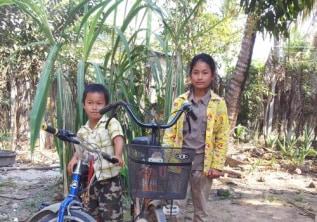 Cambodian orphanage children
