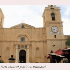 Five facts about St John's Co-Cathedral.