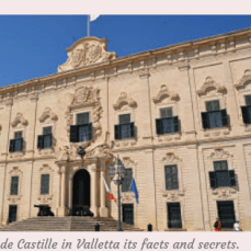 The Auberge de Castille in Valletta: Facts and Secrets