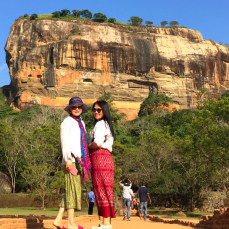 Sigiriya  (Lion Rock )