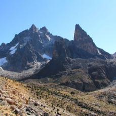 Mountaineering on Mount Kenya