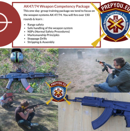 Book AK 47/74 Weapon Competency Package