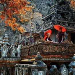Full-Day Tour to Sagaing, Innwa & Amarapura from Mandalay