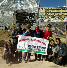 15 Day Nature tour: Annapurna Base Camp Trek