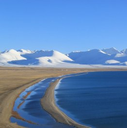 Climbing to See the Spectacular Namtso Lake