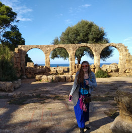 See the ancient Roman Ruins at Tipasa