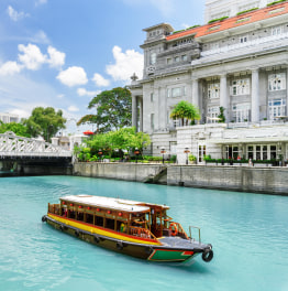 Go for a Magical River tour in Singapore.