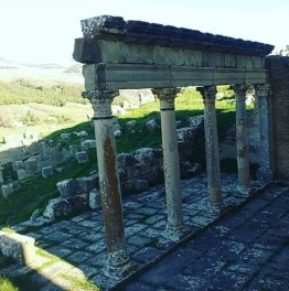 Behold the Romans Ruins of Djémila