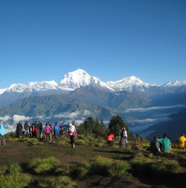 Trek across the beauty of Nepal