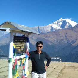 Trek to Lower Elevations of the Himalayas