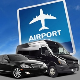 Opt for comfortable rides from the Airport