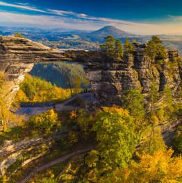 Full-Day Hike of Bohemian Switzerland national park in Prague