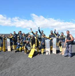 Cerro Negro-Volcano Boarding
