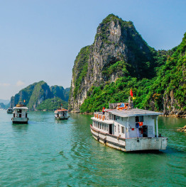 12 Day Tour of Vietnam from Hanoi with Halong Bay Cruise