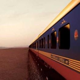 Witness the monument of love Via Luxury Train