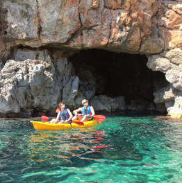 Kayak through the caves of east Spain