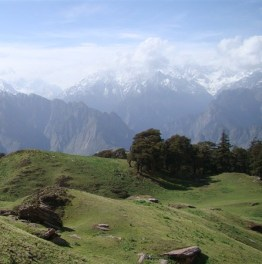 Trek to Kuari Pass for High Himalayan Peaks