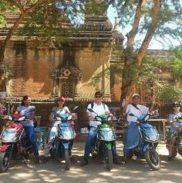 Explore Historic City Temples & Villages by E-Bike