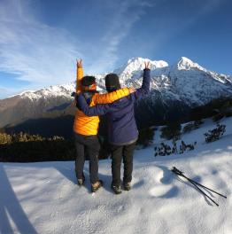 Direct along the Mardi Himal Trek