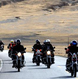 Embark on Motor Bike Tour across Himalayan Terrain