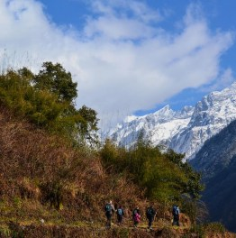 Hike to the Sanctuary of the tenth highest mountain