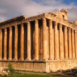 Explore Roman Ruins On Lebanese Land