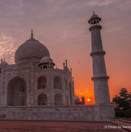 See the iconic Taj at Sunrise
