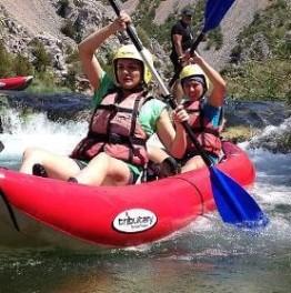 Kayaking safari on River Zrmanja