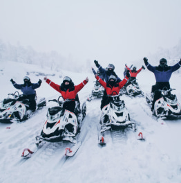 Drive to Kirovsk and Race Snowmobiles in 9 Hours
