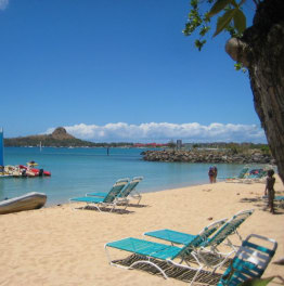 Shuttle Service from Castries terminal to Reduit Beach