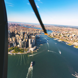 Let love bloom as you soar over the city