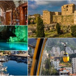 Sightsee popular Lebanese city landmarks