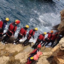Excite with Coasteering aka Cliff Jumping!