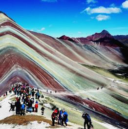 See the Rainbown Mountain: Vinicunca