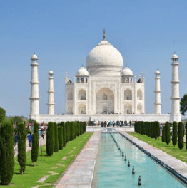 Marvel at the Taj Mahal & Agra Fort