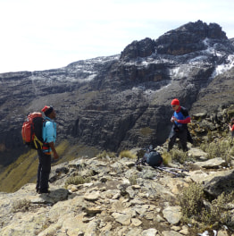 Combine mountaineering with wildlife