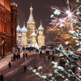 Spend Winter Holidays in the Russian Capital