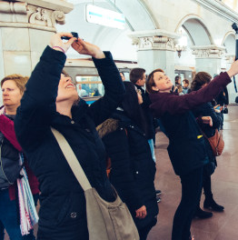 1-Hour Musical Tour Of Moscow Metros