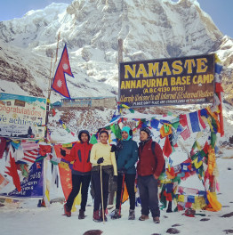 Thrill with this Annapurna Base Camp Trek