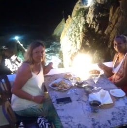 Catch the Acapulco High Cliff Divers by night